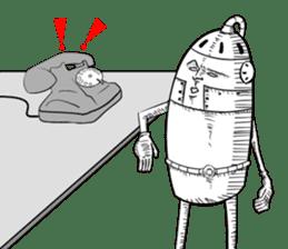 agent of Robot sticker #4613400