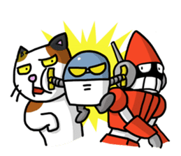 Super Robot Mr. Akechi 2 sticker #4614054