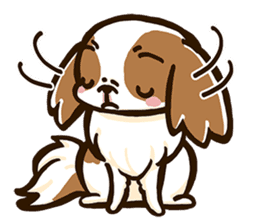 Japanese chin sticker 01 sticker #4617962