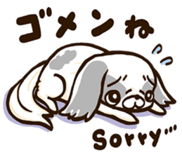 Japanese chin sticker 01 sticker #4617982