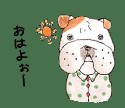 Friend of the bulldog sticker #4618720