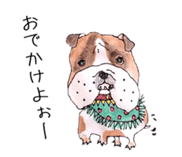 Friend of the bulldog sticker #4618721