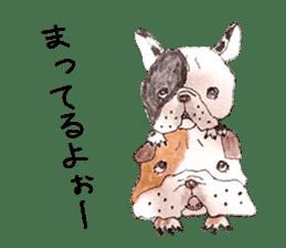 Friend of the bulldog sticker #4618723