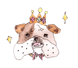 Friend of the bulldog sticker #4618726