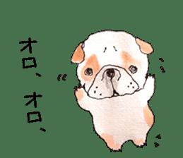Friend of the bulldog sticker #4618728