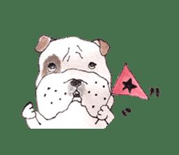 Friend of the bulldog sticker #4618729