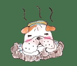Friend of the bulldog sticker #4618731