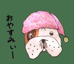Friend of the bulldog sticker #4618732