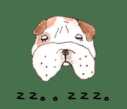 Friend of the bulldog sticker #4618733