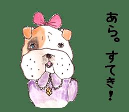Friend of the bulldog sticker #4618734