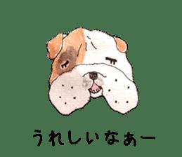 Friend of the bulldog sticker #4618735