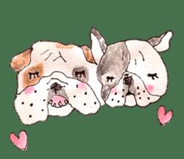 Friend of the bulldog sticker #4618736