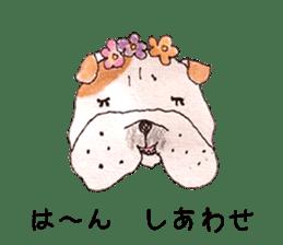 Friend of the bulldog sticker #4618737