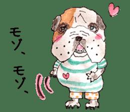 Friend of the bulldog sticker #4618739