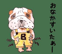 Friend of the bulldog sticker #4618740