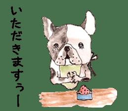 Friend of the bulldog sticker #4618741