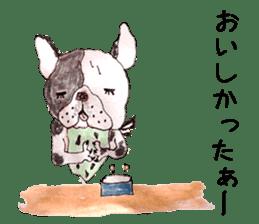Friend of the bulldog sticker #4618742