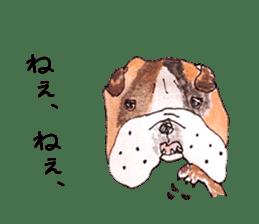 Friend of the bulldog sticker #4618743
