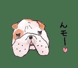 Friend of the bulldog sticker #4618744