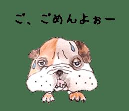 Friend of the bulldog sticker #4618745