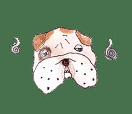 Friend of the bulldog sticker #4618751