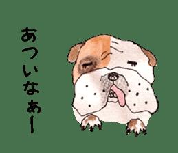 Friend of the bulldog sticker #4618753