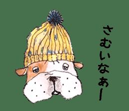 Friend of the bulldog sticker #4618754