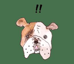 Friend of the bulldog sticker #4618756