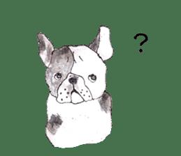 Friend of the bulldog sticker #4618757