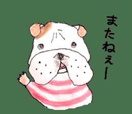 Friend of the bulldog sticker #4618758