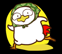 Koshiro 2 : Funny chicken sticker #4619529
