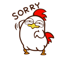 Koshiro 2 : Funny chicken sticker #4619554
