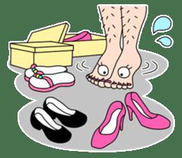 Queen's legs sticker #4619712