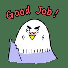 Funny Parakeet! sticker #4634333