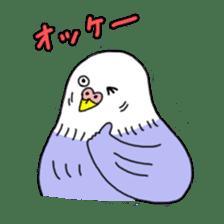 Funny Parakeet! sticker #4634343