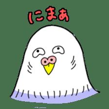 Funny Parakeet! sticker #4634344