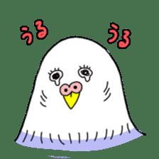 Funny Parakeet! sticker #4634345