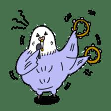 Funny Parakeet! sticker #4634350
