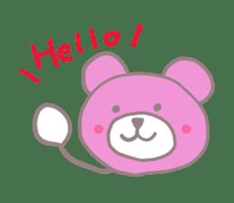 Pink Teddy sticker #4639208