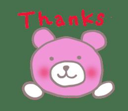 Pink Teddy sticker #4639212