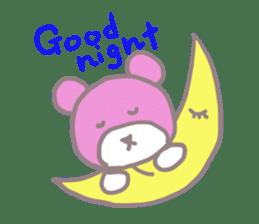 Pink Teddy sticker #4639226