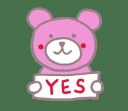 Pink Teddy sticker #4639228