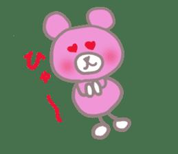 Pink Teddy sticker #4639235