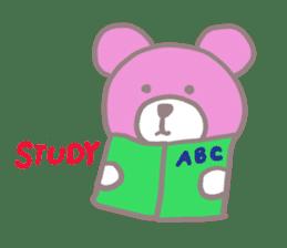 Pink Teddy sticker #4639241