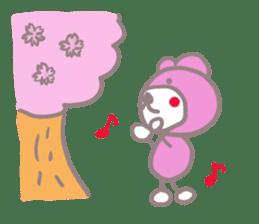 Pink Teddy sticker #4639244