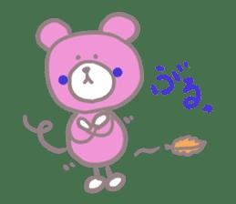 Pink Teddy sticker #4639246