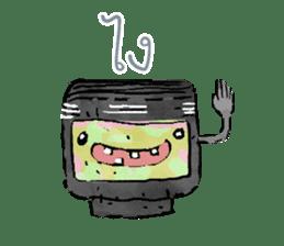Video game cartridge- kun (Thai) sticker #4643208