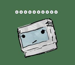 Video game cartridge- kun (Thai) sticker #4643209