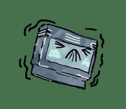 Video game cartridge- kun (Thai) sticker #4643211
