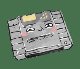 Video game cartridge- kun (Thai) sticker #4643212
